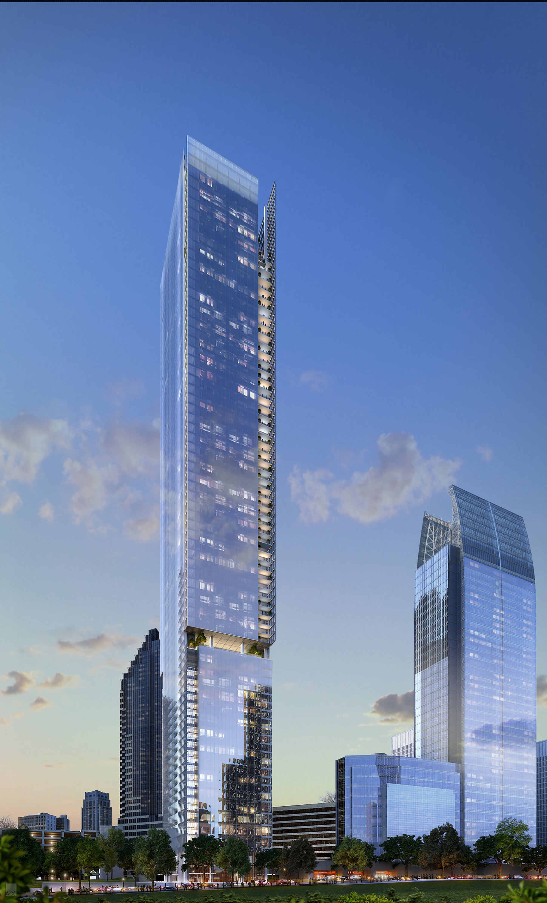 Gallery Of Perkins Will To Design Atlanta S Second Tallest