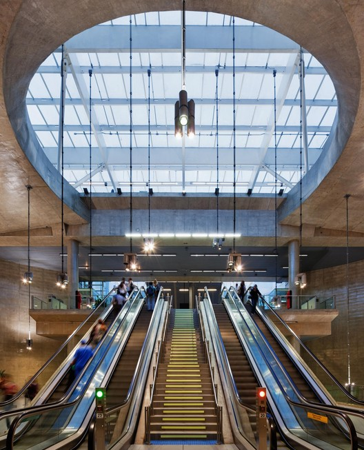 Estação Vila Prudente / Luiz Esteves Arquitetura, ©  Nelson Kon