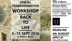 International Workshop 'Back to Life' / Murcia