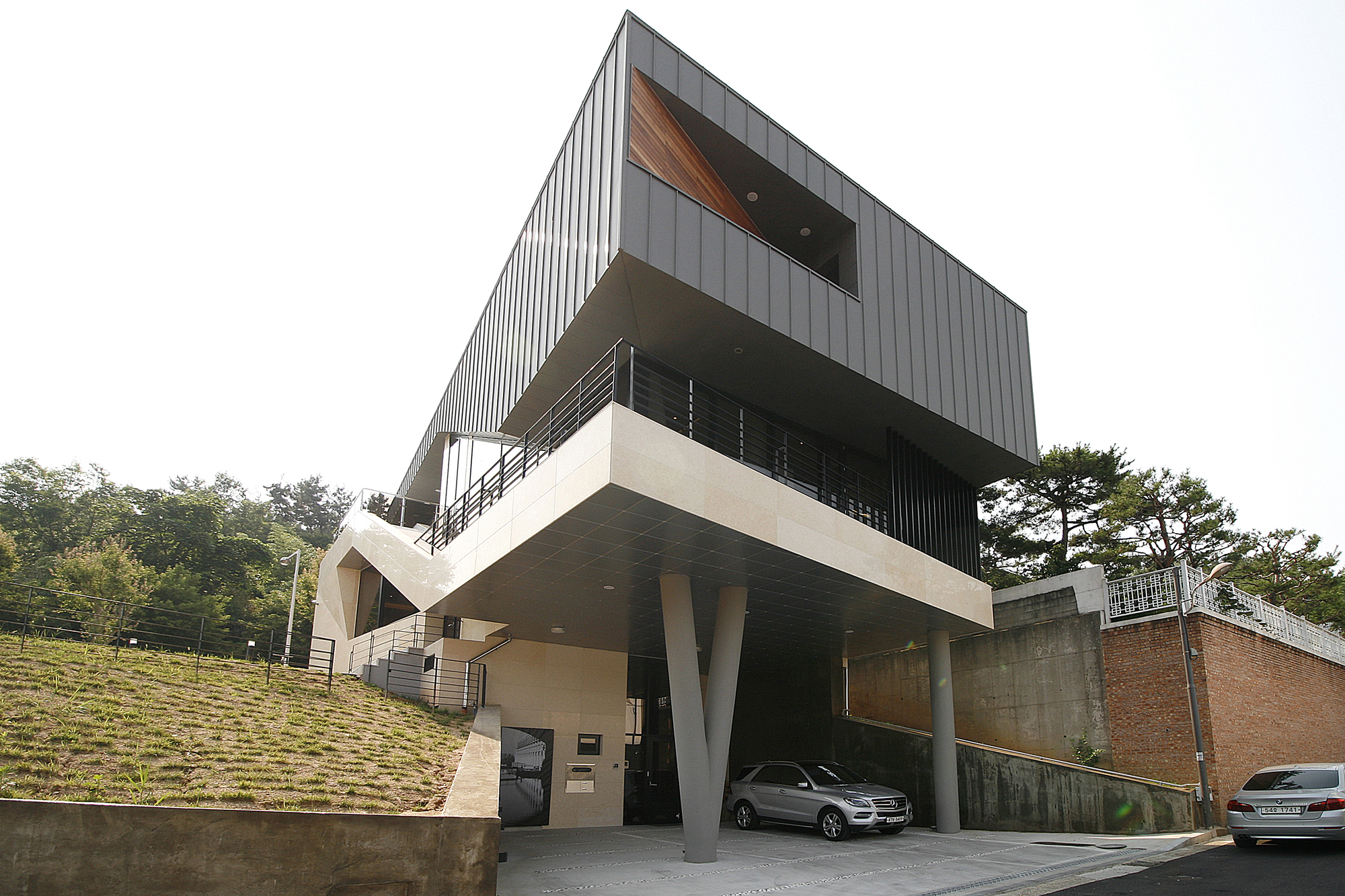 Exterior: Floating-Ⅵ / PLAN & HUMAN PLAN Architects Office
