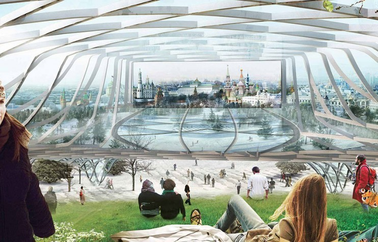 8 Projects that Exemplify Moscow's Urban Movement, Zaryadye Park / Diller Scofidio + Renfro. Image Courtesy of Zaryadye Park