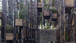 Escalera Verde / Vo Trong Nghia Architects