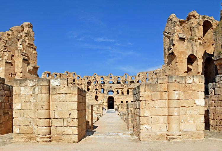 Sapienza Università di Roma oferece curso on-line grátis sobre arqueologia, Ruínas na Tunísia. Image © Dennis Jarvis, via Flickr. Licença CC BY-SA 2.0