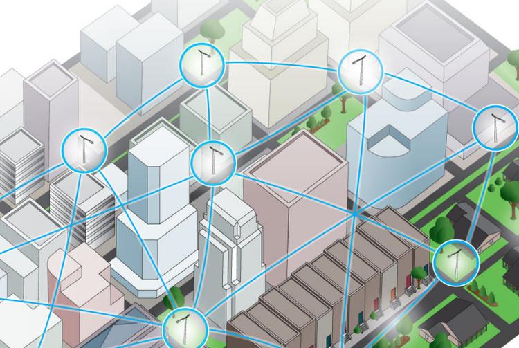Sistema de controle wireless para luminárias de cidades inteligentes, Cortesia de GE Lighting