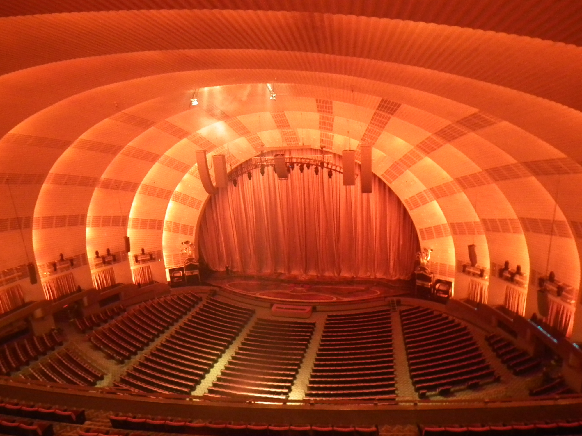 Ad Classics Radio City Music Hall Edward Durell Stone Donald Deskey Archdaily