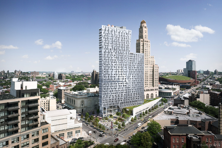 TEN Arquitectos' Brooklyn Tower Nearing Completion, Courtesy of TEN Arquitectos
