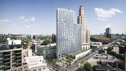 TEN Arquitectos' Brooklyn Tower Nearing Completion