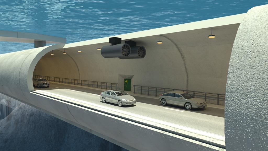Túneles flotantes sumergidos pueden ser la solución para atravesar los amenazantes fiordos de Noruega