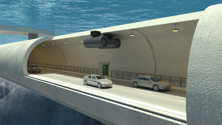 Submerged Floating Tunnels May Be the Solution to Crossing Norway's Treacherous Fjords, via Norwegian Public Roads Administration