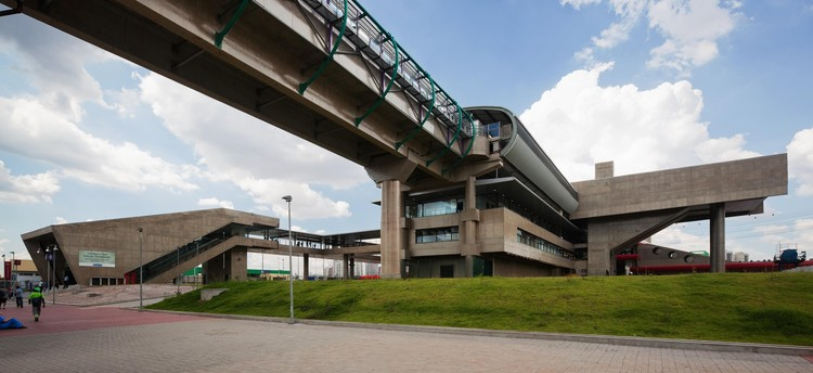 Estação Tamanduateí / Luiz Esteves Arquitetura, ©  Nelson Kon