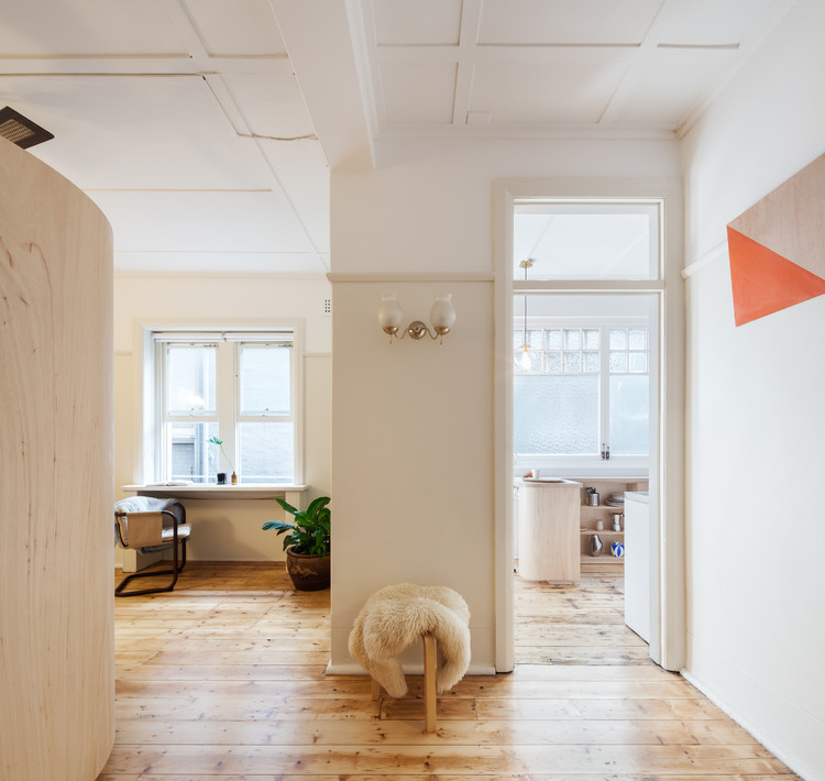 Studio Apartment Architecture small and sculpted studio apartment / catseye bay design | archdaily