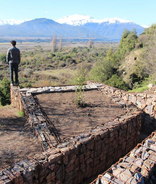 Mirador Asomo al Vacío: un espacio de contemplación hecho de gaviones, Cortesía de Loreto Mellado Medel