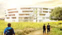 Circolo-A + Linearama  Win Italian Competition with Ring-Shaped Complex