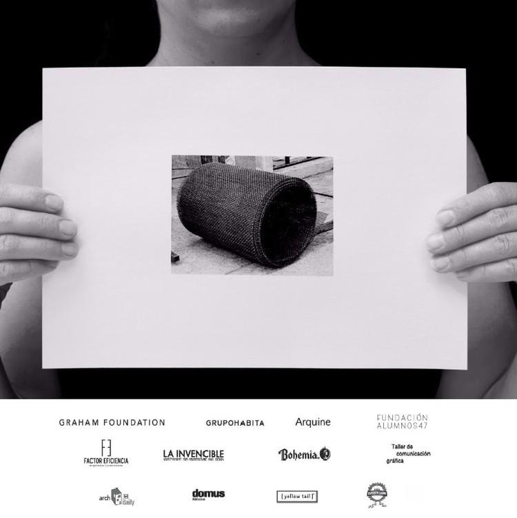 LIGA 23: Exposición Una columna es un sistema / Ciudad de México, Cortesía de LIGA
