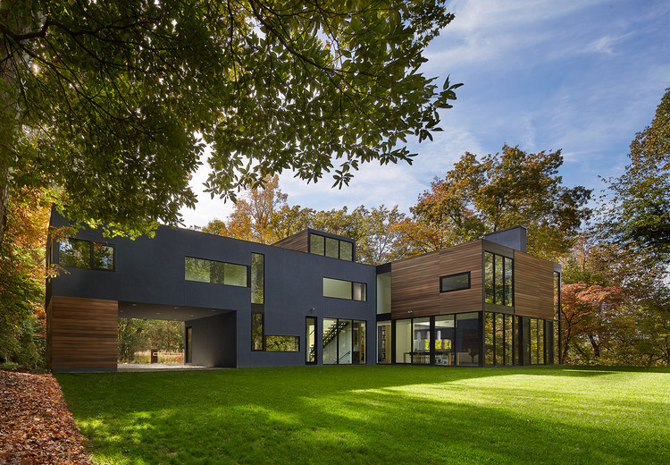 Mohican Hills House Robert M Gurney Archdaily