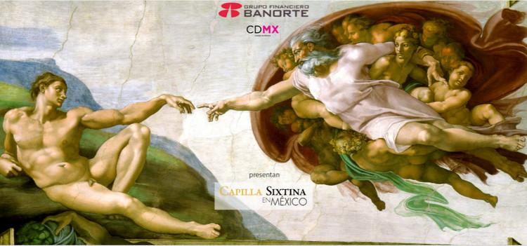 Reproducción de la Capilla Sixtina en México / Ciudad de México, Cortesía de Sixtina en México