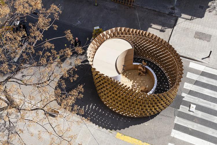 Cap Buit / NITUNIYO + MEMOSESMAS, Vista aérea de la instalación. Image © Milena Villalba