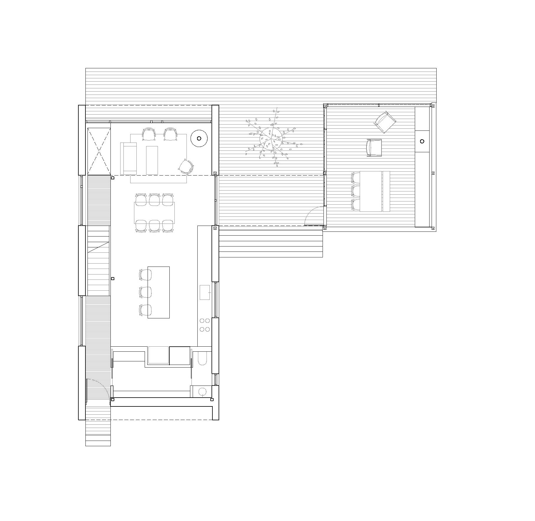 Gallery of la maison haute atelier pierre thibault 14 for Plan maison pierre