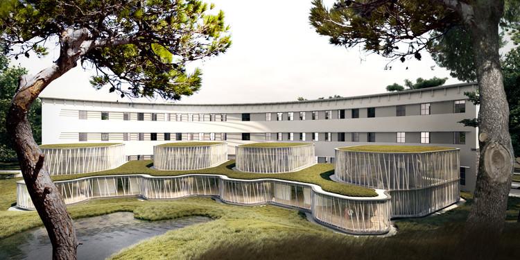 SADAR + VUGA diseñará la Corte Suprema de Albania, Cortesía de SADAR + VUGA