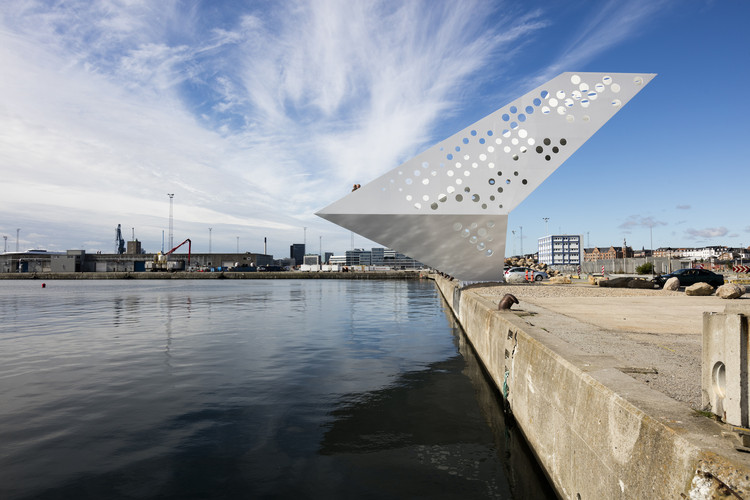 Material em Foco: Torre Salling pelos arquitetos do Dorte Mandrup Arkitekter, © Torben Eskerod