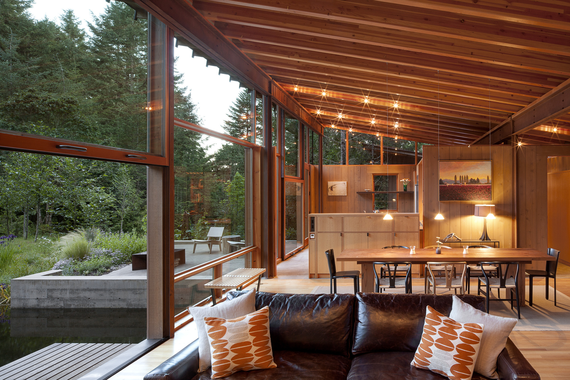Gallery of newberg residence cutler anderson architects 12 for Anderson architects