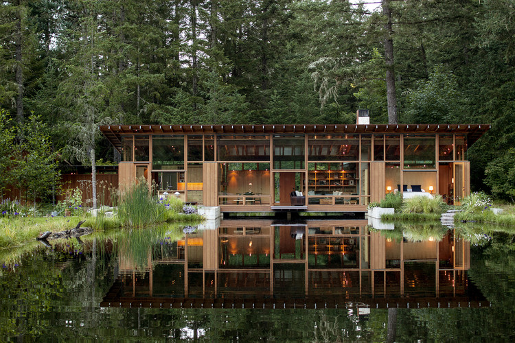 Newberg residence cutler anderson architects archdaily for Jim cutler architect
