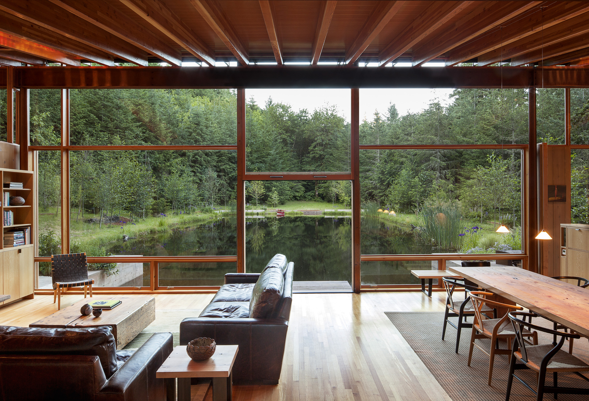 Gallery of newberg residence cutler anderson architects 4 for Jim cutler architect