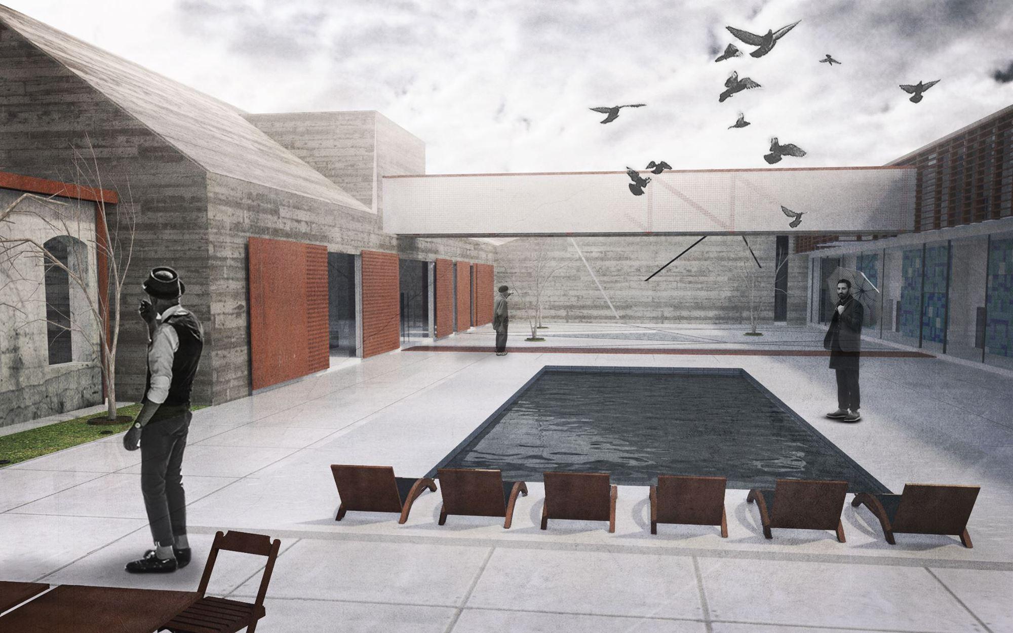 'Fábrica Hotel', proyecto ganador del Premio CICOP Chile 2015