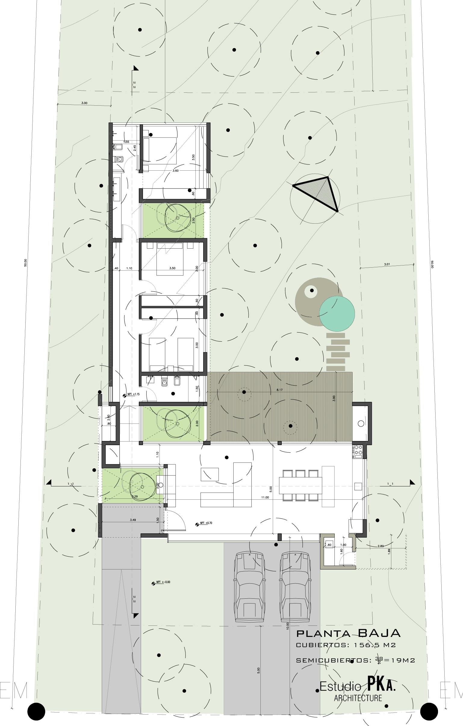 Galeria de casa l estudio pka 22 for Casas en ele planos