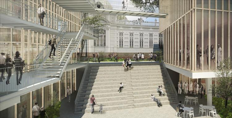 Jaime Lecca + Nómena Arquitectura ganan concurso para diseñar el Centro Cultural Pedro de Osma en Lima, Perú, Cortesía de Jaime Lecca + Nomena Arquitectura