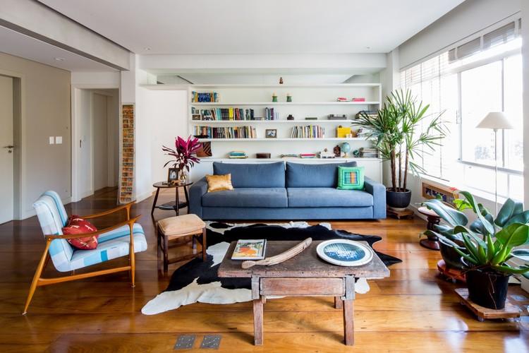 Apartamento em Higienópolis / Verso Arquitetura, © Pedro Napolitano Prata
