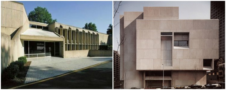 2 Classic Marcel Breuer Buildings At Risk for Demolition to Meet Opposite Fates