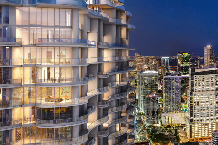Iosa Ghini Associati Bring Italian Luxury to New Miami Skyscraper, Courtesy of Iosa Ghini Associati