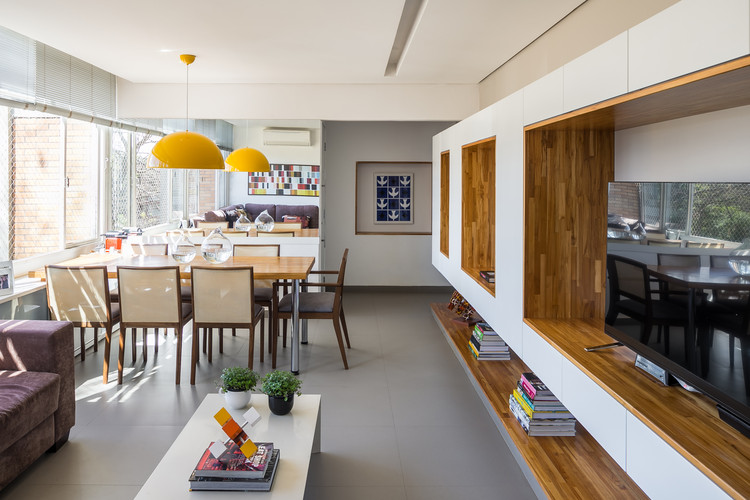 Apartamento Porto / Rodrigo Biavati, © Haruo Mikami