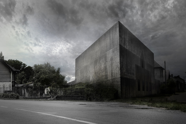ZA Unveils Proposal for Memorial Museum to Czech Martyr, Courtesy of Zavoral Architekt (ZA)