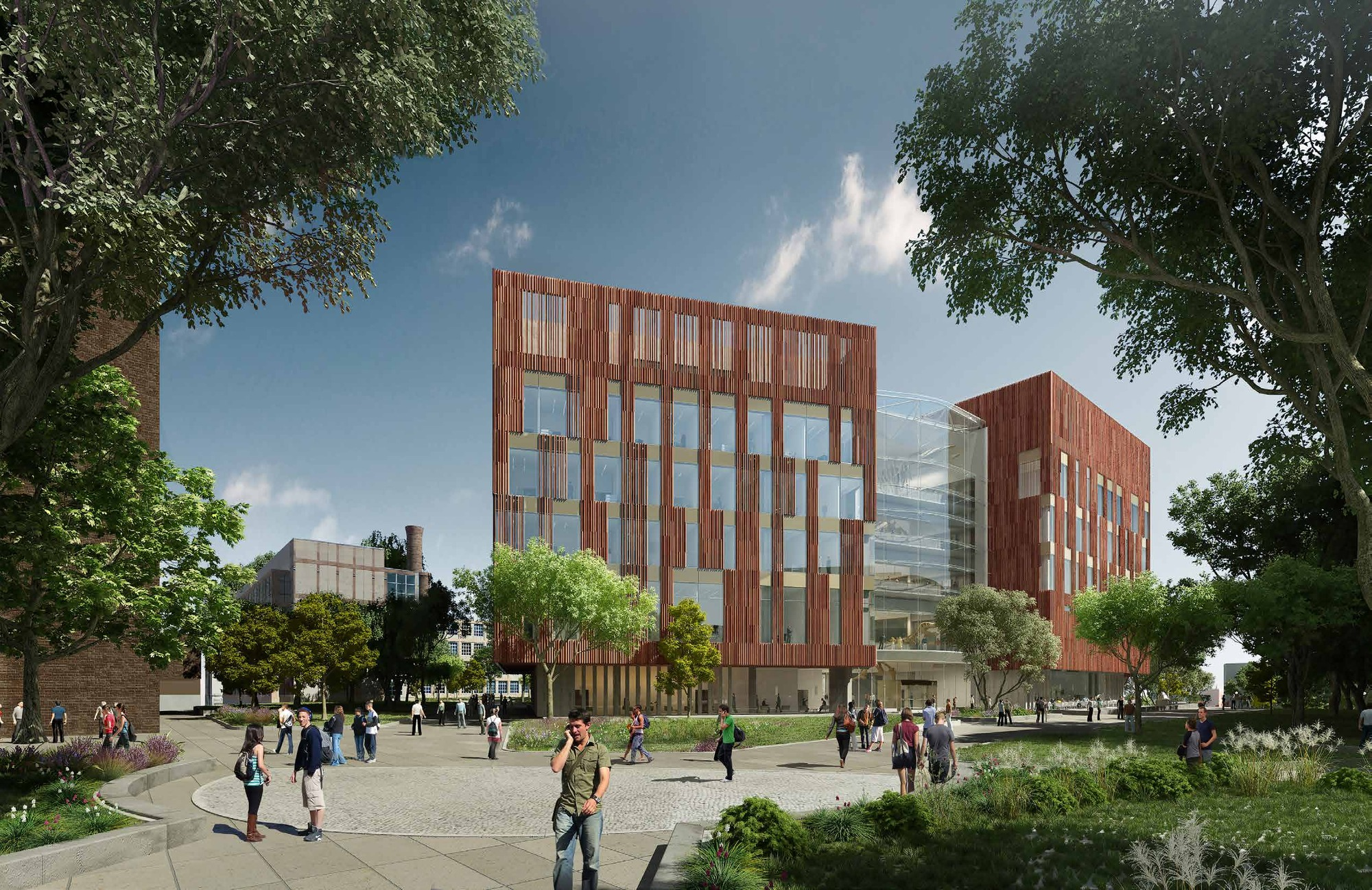 Ennead Architects Makes Progress On New University Of Michigan Biological  Sciences Building , Courtesy Of Ennead