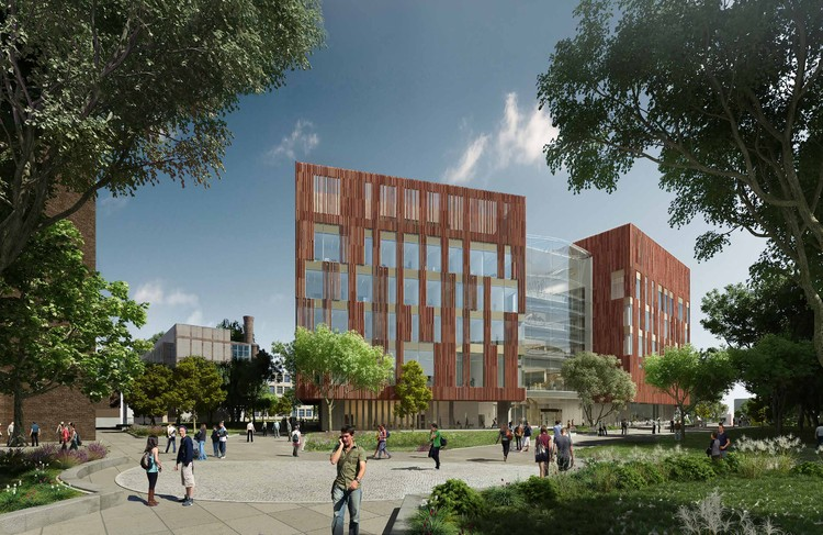 Ennead Architects Makes Progress on New University of Michigan Biological Sciences Building , Courtesy of Ennead Architects
