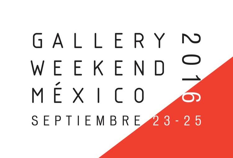 Gallery Weekend México / Ciudad de México, vía GWM