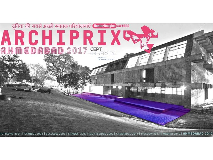 Archiprix International 2017, Archiprix International 2017