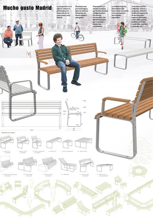 39 bancos para compartir 39 el nuevo mobiliario urbano for Mobiliario para planos