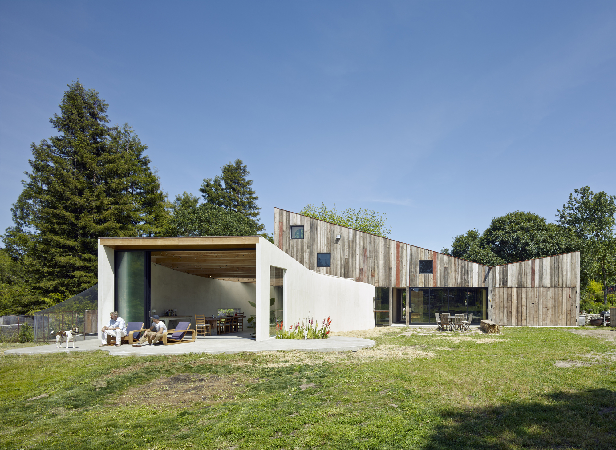 Gallery Of Artist Studio In Sonoma Mork Ulnes Architects 5
