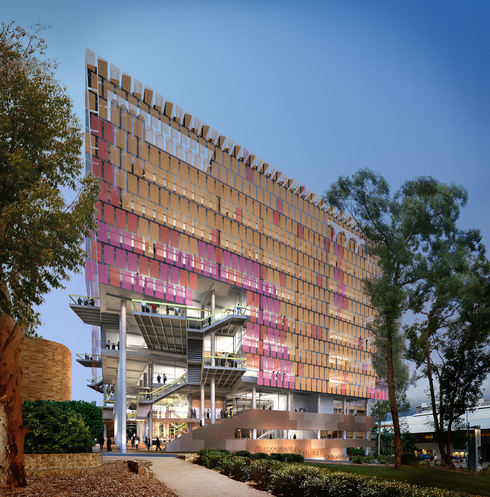 Lyons and m3architecture Selected to Design Sustainable Futures Building at the University of Queensland, Australia
