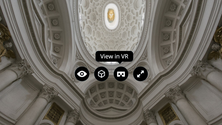 Sketchfab Strengthens Commitment to Virtual Reality With New Features, Image adapted from screenshot of San Carlo alle Quattro Fontane model by Matthew Brennan