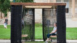 Deployable Smocked Porch / Substance Architecture