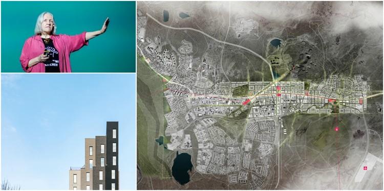 Saskia Sassen, Krister Lindstedt e Mimi Hoang falam sobre arquitetura e processos migratórios