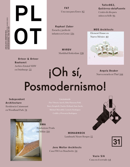 Revista Plot #31 ¡OH SÍ, POSMODERNISMO! , Cortesía de PLOT