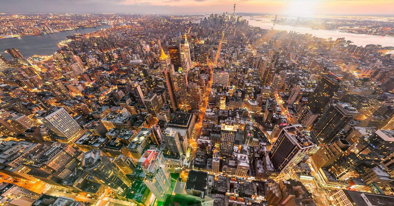 Sobrevuela Nueva York, París e Islandia con estas increíbles panorámicas