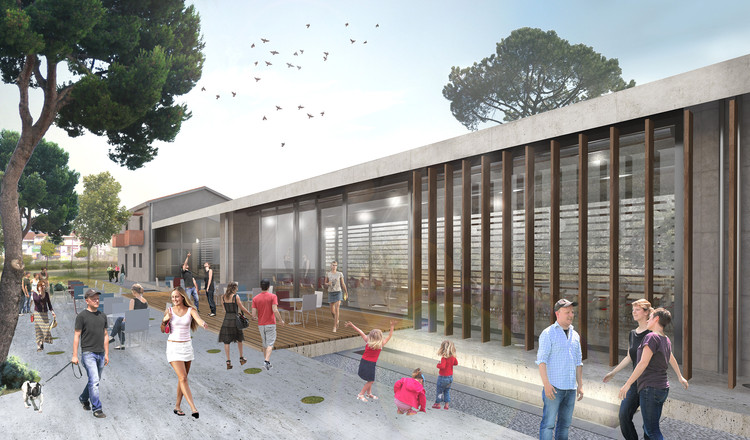 MOR Architects Wins Cultural Center Competition in Greece, Courtesy of MOR Architects