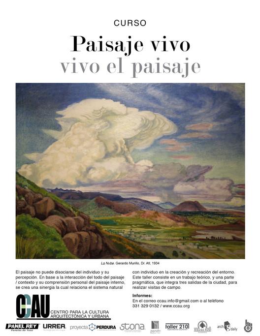 Curso CCAU: Paisaje vivo, vivo el paisaje / Guadalajara