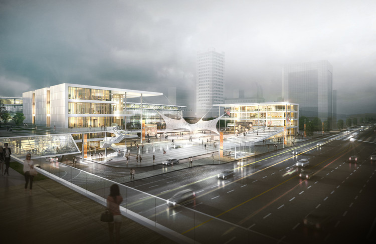 Second-Place Design Proposes Revitalization of Busan with Film in Korea, Courtesy of Selyong Kim, Yongwon Kwon, Seongyen Hwang, and Wonyang Architecture